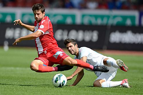 26.08.2012, Z†RICH, FUSSBALL SUPER LEAGUE, FC Zuerich - FC Sion