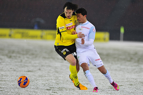 ZÜRICH, FUSSBALL SUPER LEAGUE, 23.02.2013, FC Zuerich - YB Bern: