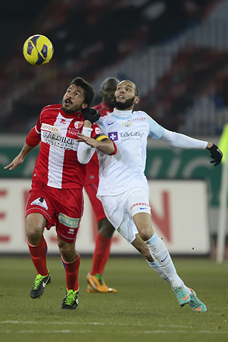 ZÜRICH, FUSSBALL SUPER LEAGUE, 02.03.2013, FC Zuerich - FC Sion:
