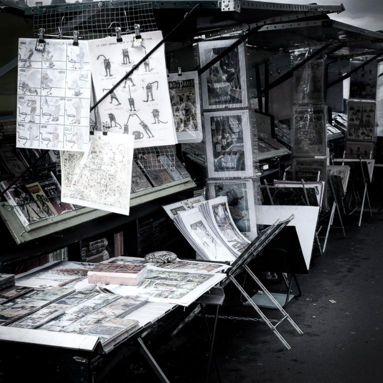 Bookstalls | Study - Paris, France 2015