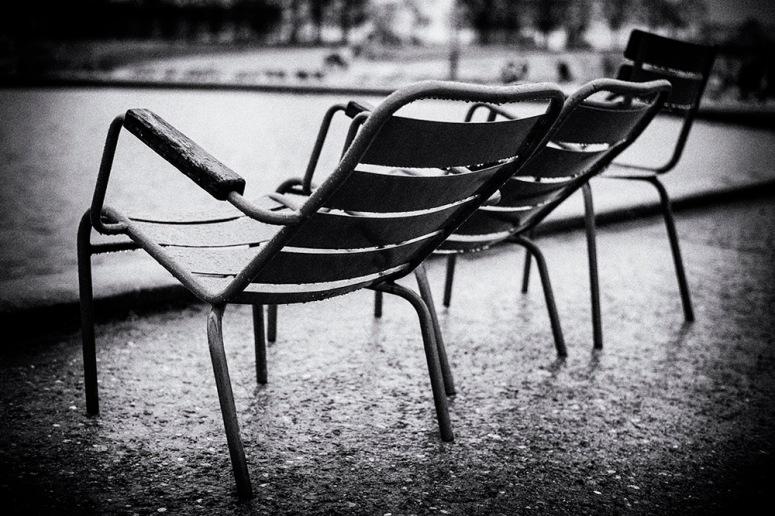 Stühle im Jardin des Tuileries