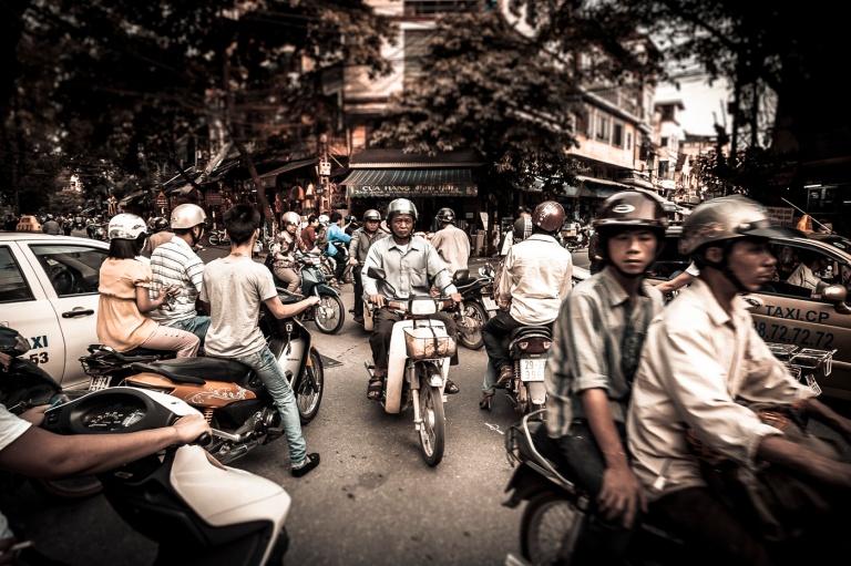 Traffic Jam - Hanoi